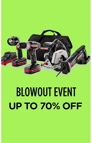 Blowout Event Up to 70% off