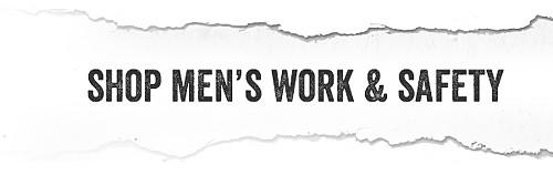 Shop men's work & safety gear