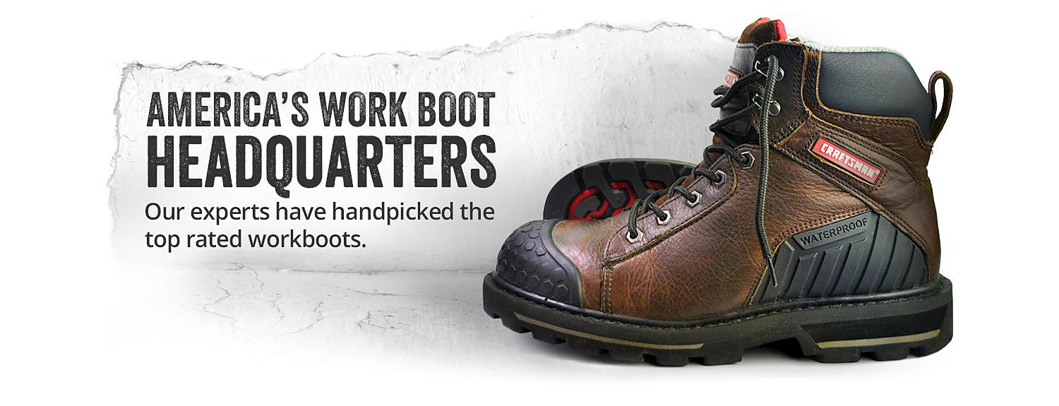 Top Work & Safety Boots - Sears