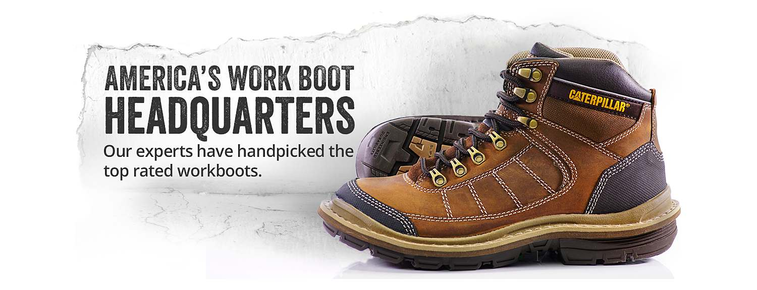 CAT Footwear work boots