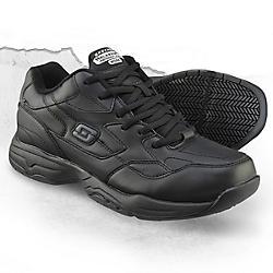 Skechers Men's Work Felton Slip-Resistant Sneaker