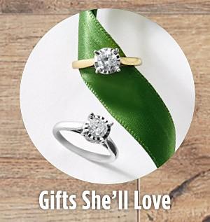 Shop Gifts She'll Love