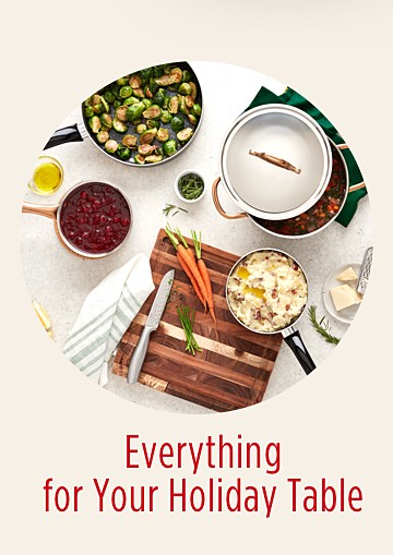 Shop Everything for Your Holiday Table - Wish Book 2018