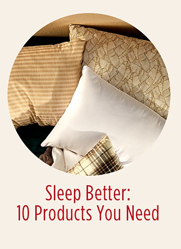 Sleep Better, 10 Products You Need  - Wish Book 2018