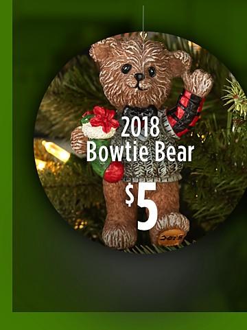 2018 Bowtie Bear $5