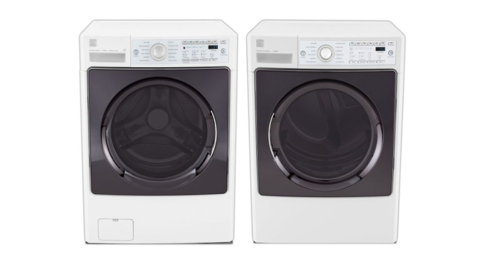 Kenmore Elite 4.0 cu. ft. Front-Load Steam Washer and 7.3 cu. ft. Steam Dryer