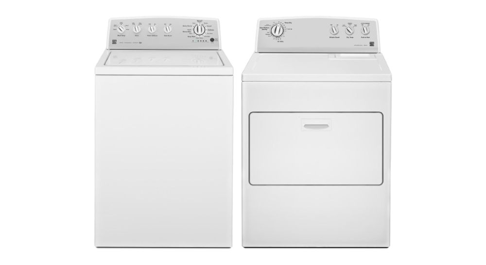 Kenmore 3.8 cu. ft. Top-Load High-Efficiency Washer & 7.0 cu. ft. Dryer