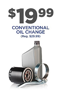 $19.99 Conventional Oil Change!