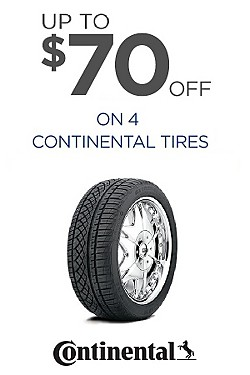 Continental - Up to $70 off on 4