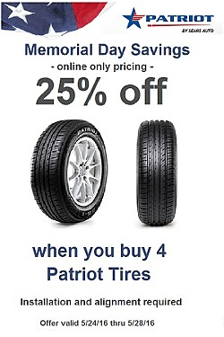 25% off Patriot