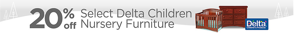 20% off Select Delta Children Furniture