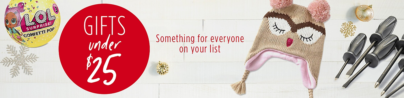 Holiday Gifts Under $25 - Something for everyone on your list - Wish Book 2018