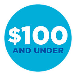 Menos de $100