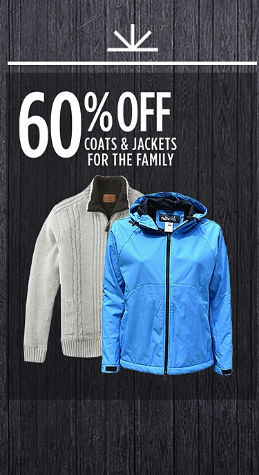Up to 60% Off clothing for the entire family