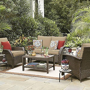 EXTRA 10% off Patio Furniture with code: SALUTE