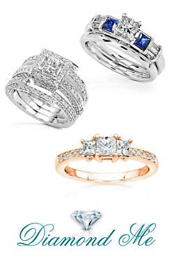 diamond me - Kmart Wedding Ring Sets