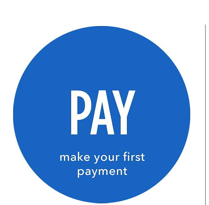 Pay | make your first payment
