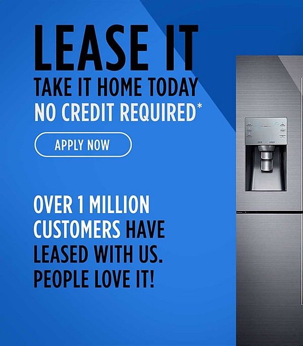 Lease It | no credit required $60 Today* to start a new lease| apply now | Over 1 million customers have leased with us people love it!