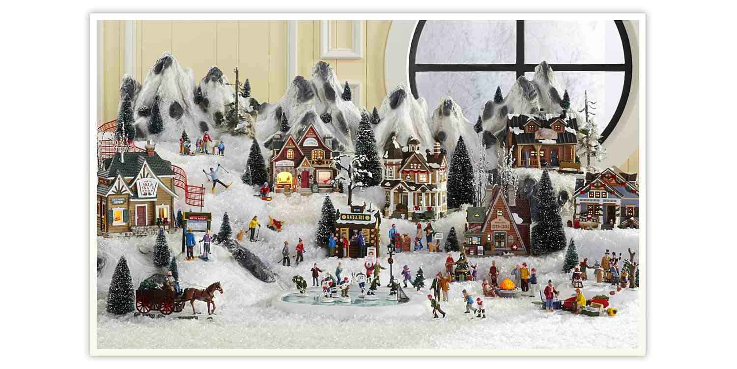 vail village collection - Animated Christmas Village