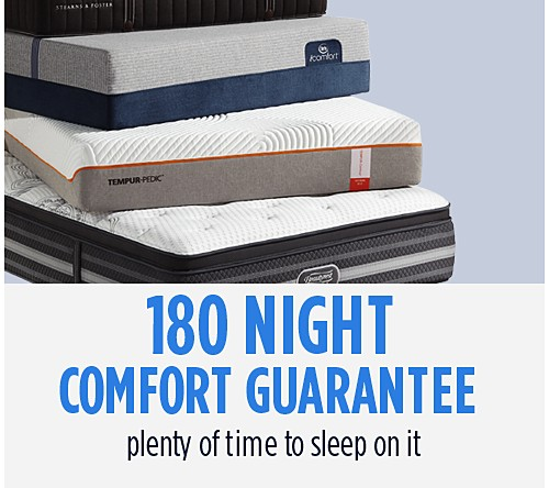 180 Night Comfort Guarantee Policy