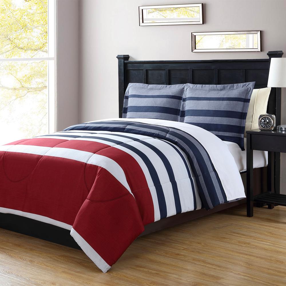 """Reg. $59.99-$69.99, esp. $41.99-$48.99 Ahorra 30% en """"bed-in-a-bag"""" de 8 pzs. en tamaños """"twin-king"""""""