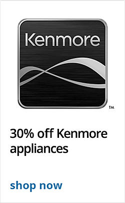 30% off Kenmore