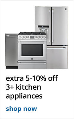 Buy More, Save More ! extra 5-10% off 3 or more kitchen appliances