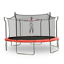 15' Trampoline w/ Enclosure & Anchor Kit