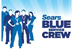 Sears Blue Service Crew