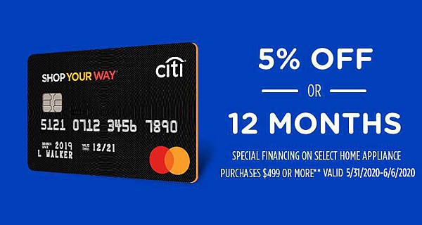 Sears Credit Card Offers