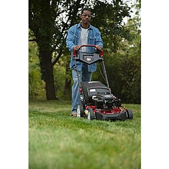 how to clean the underside of a lawn mower
