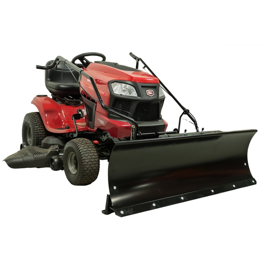 Snow removal equipment sears for Craftsman garden tractor attachments