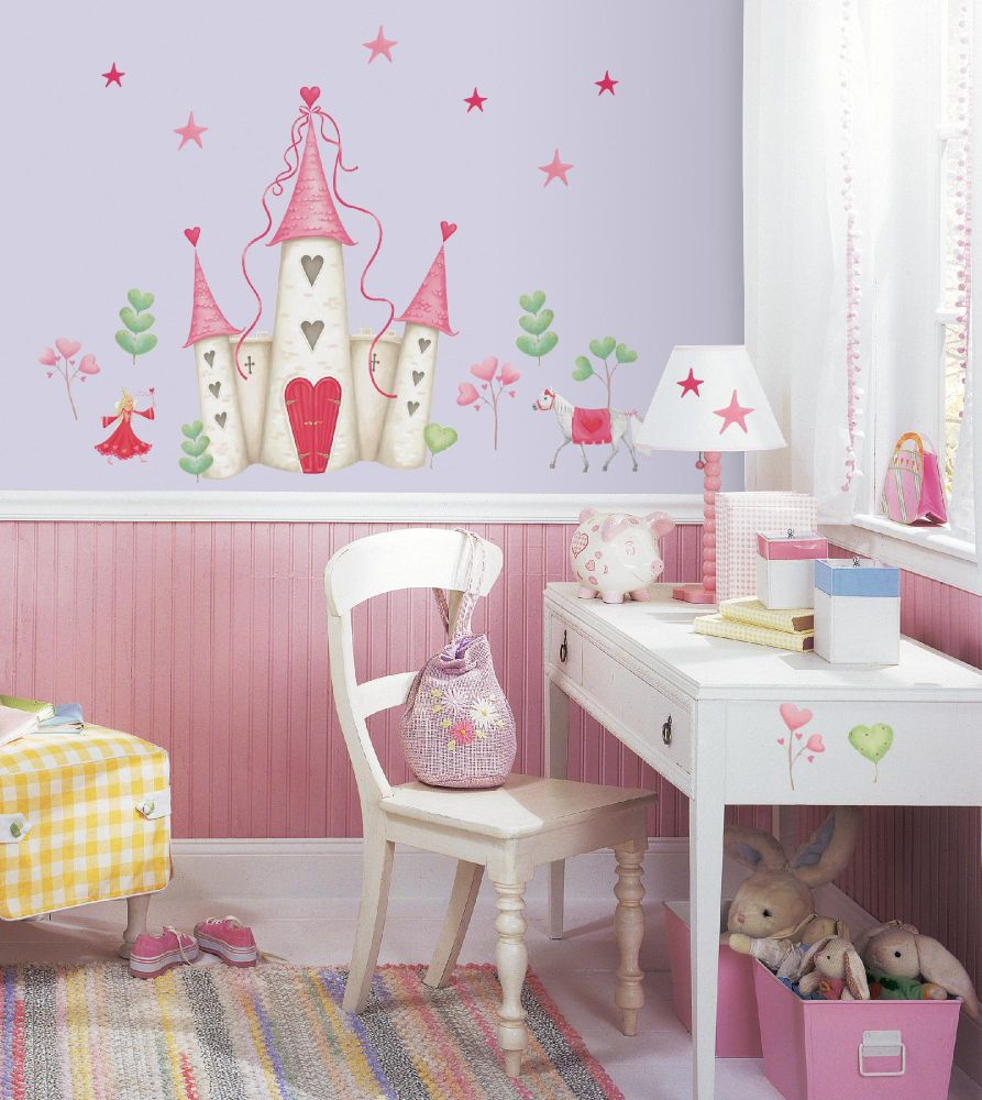 Princess Castle Peel & Stick Wall Decals