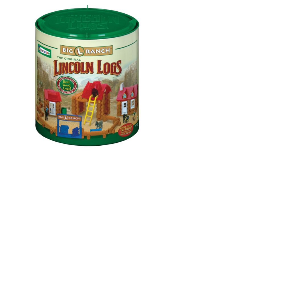 Lincoln Logs Plans. LINCOLN LOGS BIG L RANCH