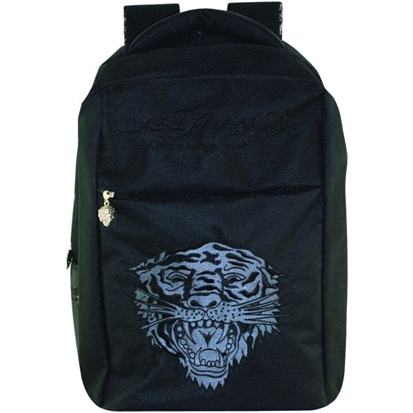 Ed Hardy Al Tiger Black Notebook Backpack