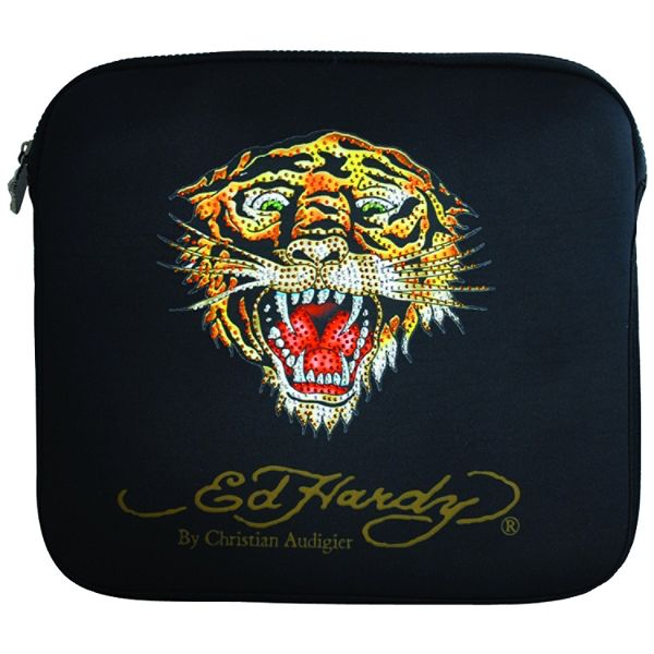 Ed Hardy Bill Tiger Large Notebook Sleeve (16