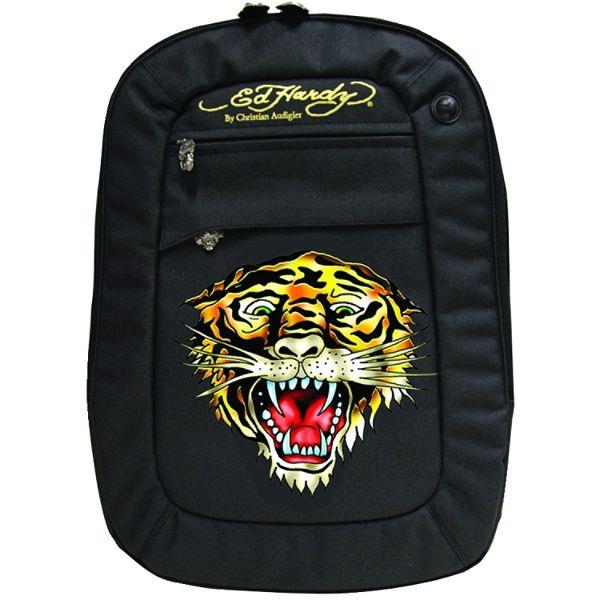 Ed Hardy Cesar Tiger Notebook Backpack