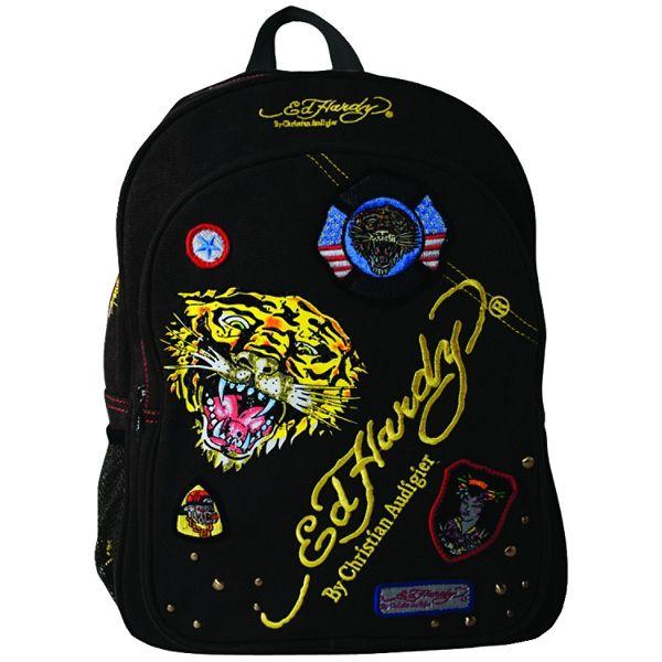 Ed Hardy Ramy Tiger Messenger Bag