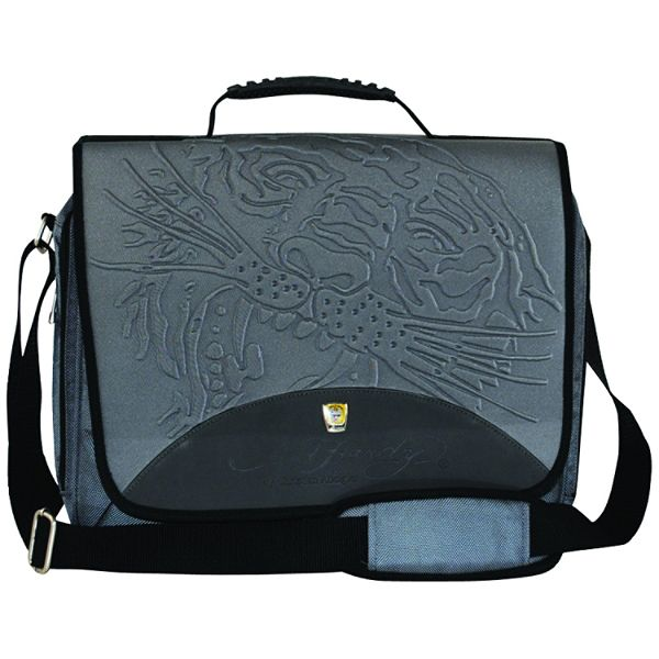 9ebc6413d544 ... Ed Hardy Handbags Backpacks. Ed Hardy Sammy Tiger Gray Messenger Bag