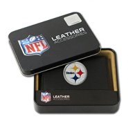 Rico Pittsburgh Steelers Men's Black Leather Tri-fold Wallet at Kmart.com