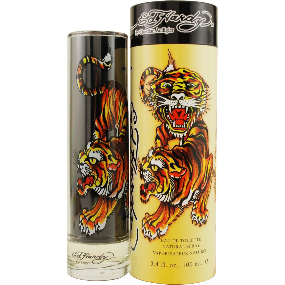 Ed Hardy ED HARDY by Christian Audigier EDT Spray 3.4 Oz for Men