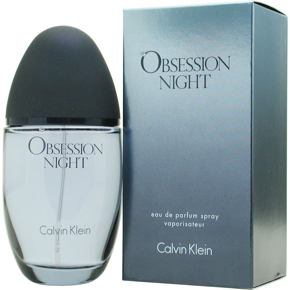 Obsession Night OBSESSION NIGHT by Calvin Klein Eau De Parfum Spray 3.4 Oz for Women