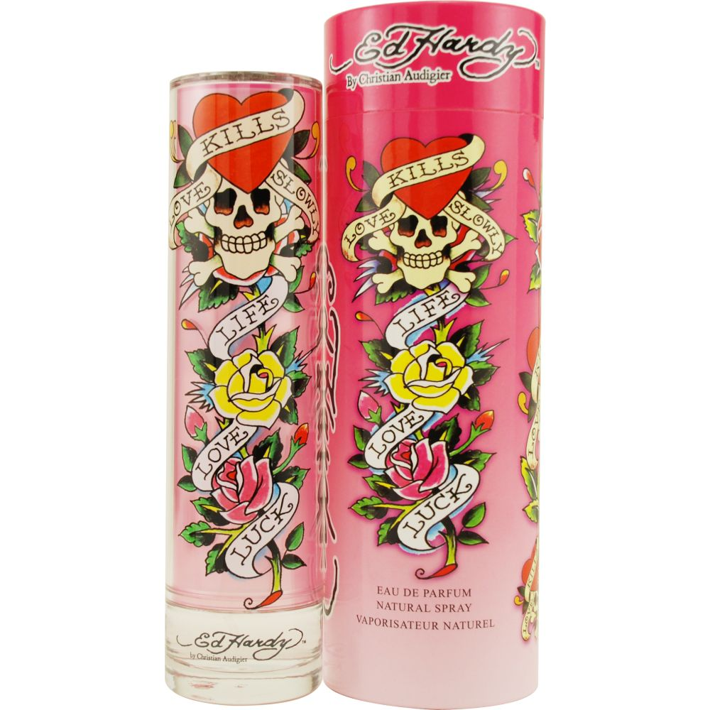 Ed Hardy ED HARDY by Christian Audigier Eau De Parfum Spray 1.7 Oz for Women