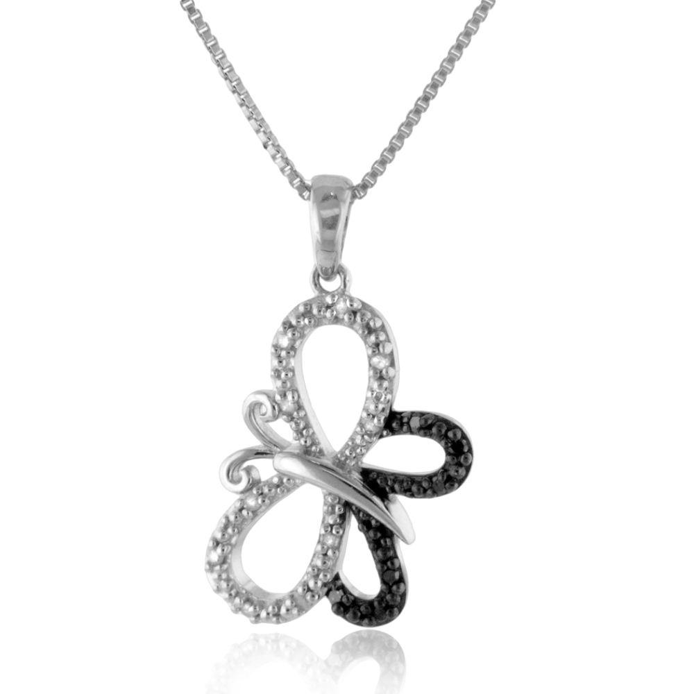 this elegant butterfly pendant