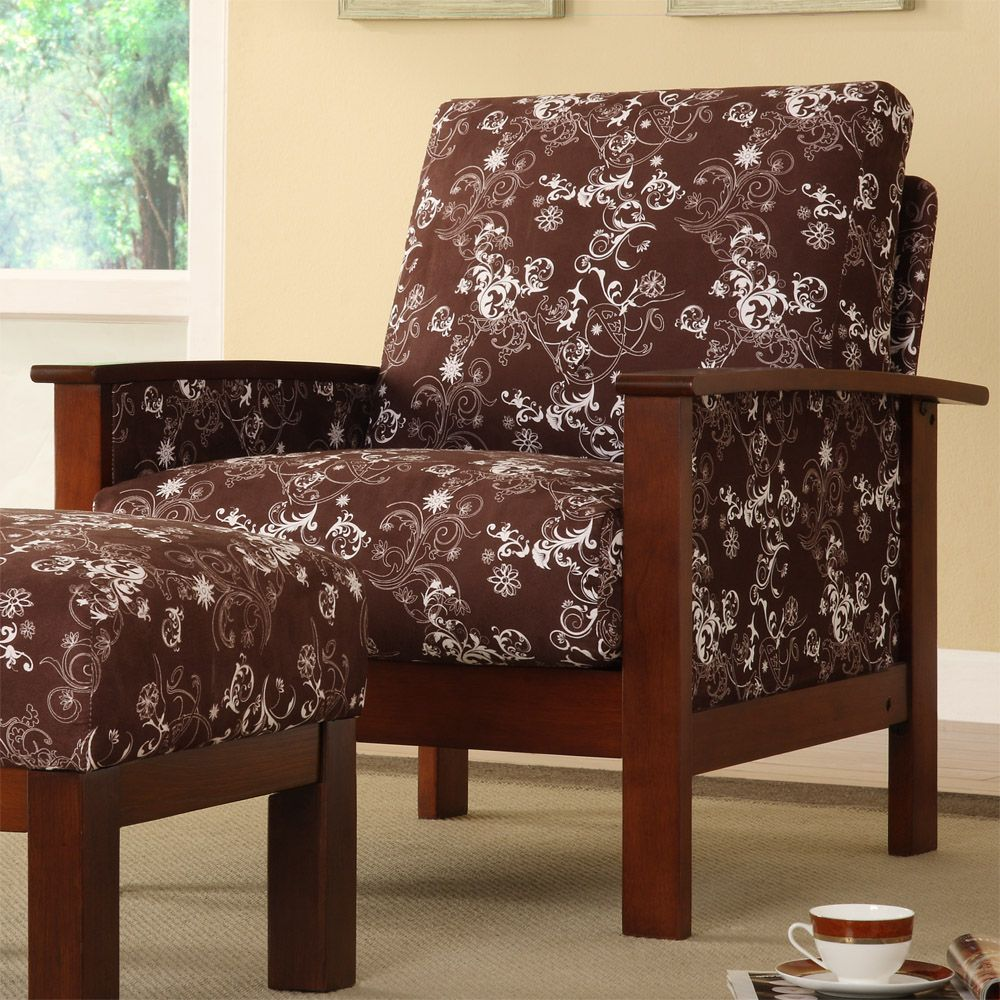 Furniture living room furniture upholstered chair floral