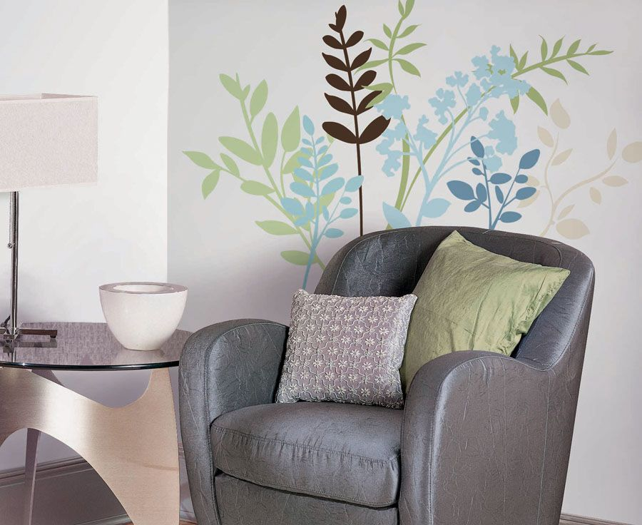 Multi Branches Peel & Stick Wall Decals