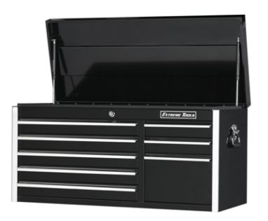 Extreme Tools  41'' 8 Drawer Professional Tool Chest in Black