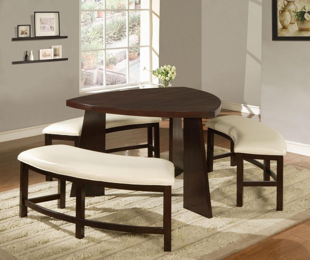 Furniture dining room furniture table dining room for Triangle shaped dining room table