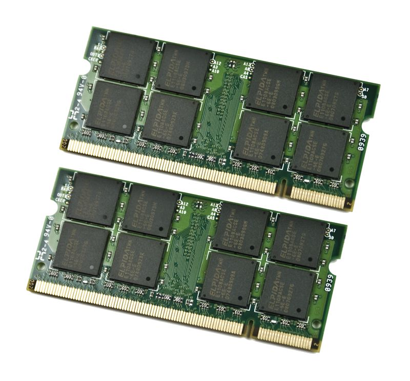 EP Memory EP 2GB 667MHz DDR2 Non-ECC CL5 SODIMM (Kit of 2) NOTEBOOK/LAPTOP MEMORY MODULE KIT
