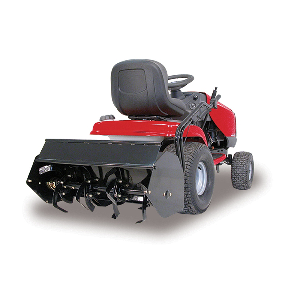 Berco Rear Mount Rotary Tiller Tractor Attachment  Lawn & Garden
